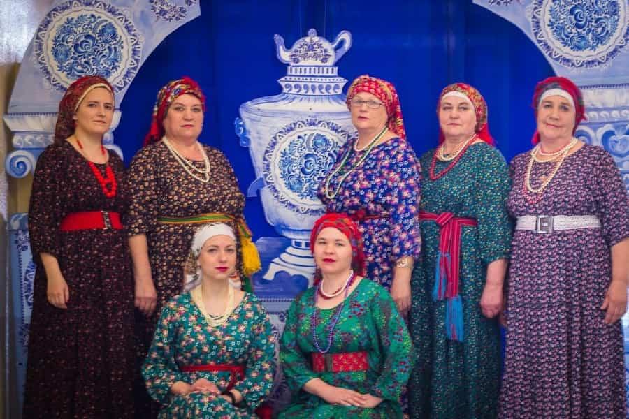 Фольклорный ансамбль Параскева
